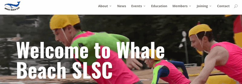 Whale Beach SLSC's brand-spanking new website has launched!