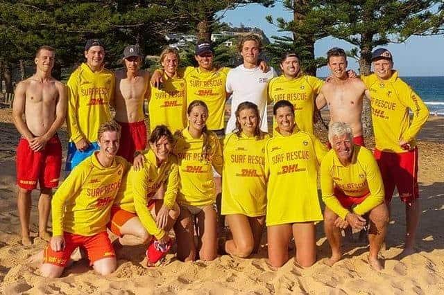 surf patrol team