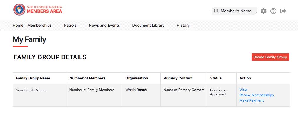 Whale Beach SLSC Family membership