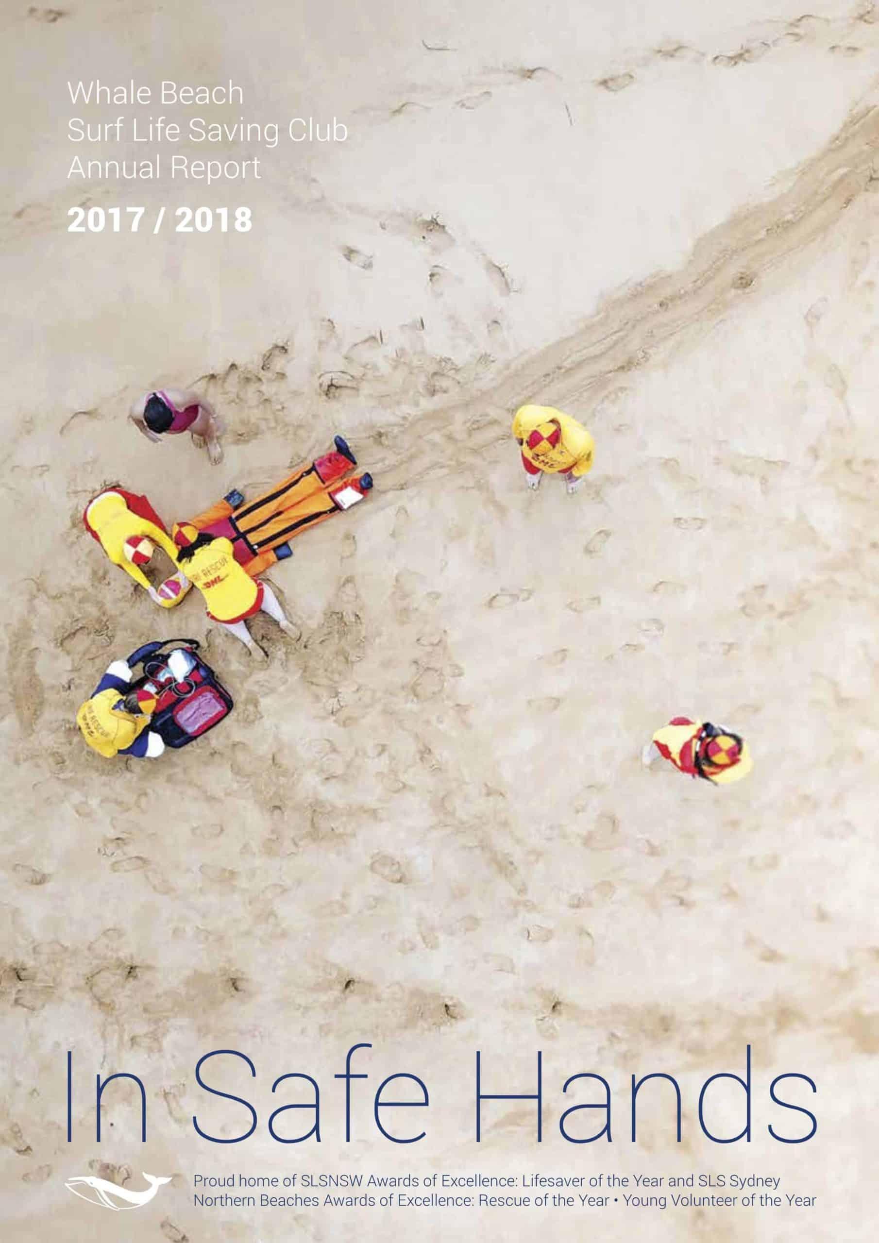 Whale Beach SLSC Annual Report 2017_2018 Cover
