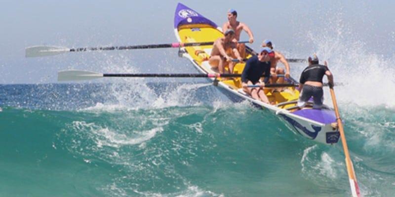 Surf Boat Action - BOAT