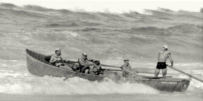 Surf Boat Action - Junior Boat