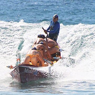 Surf Boat Action - Midget boat