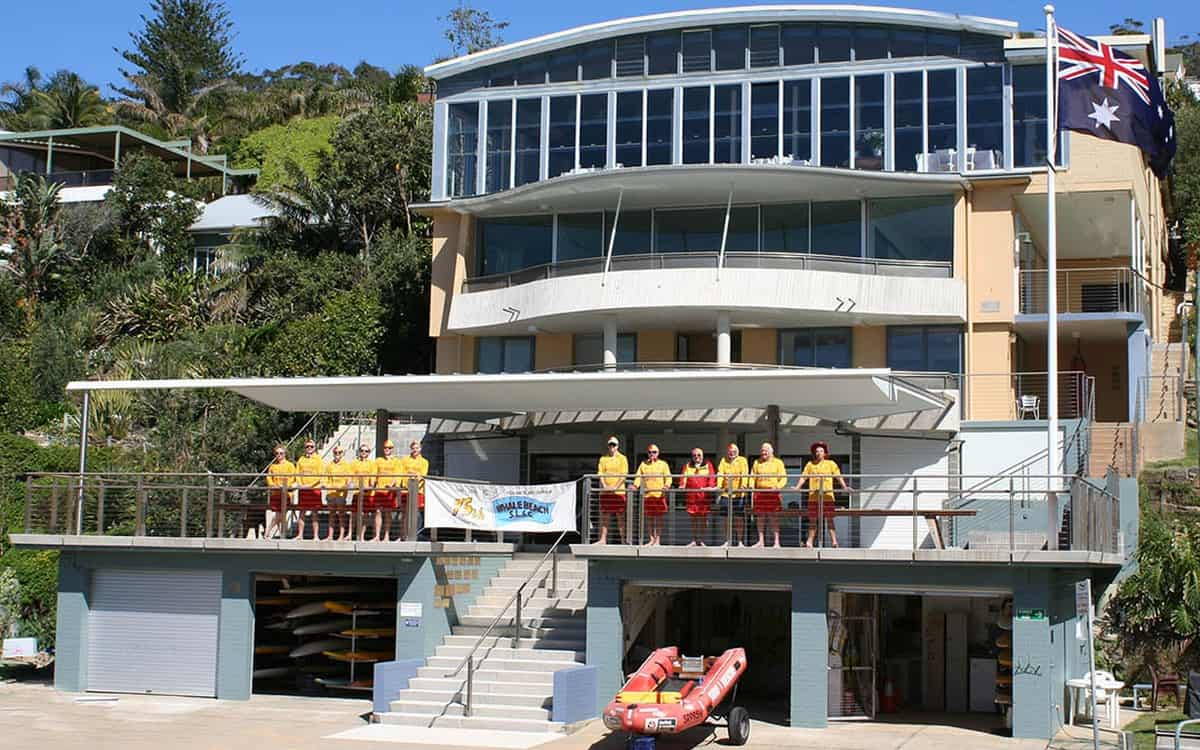 Todays Clubhouse - New Whale Beach SLSC
